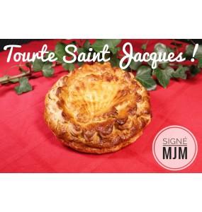 Tourte aux Saint Jacques