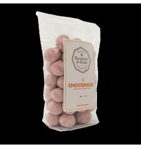 chocobulles, enrobage biscuits de Reims