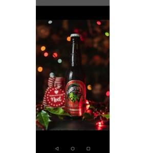 Bière La bouquine de Noël