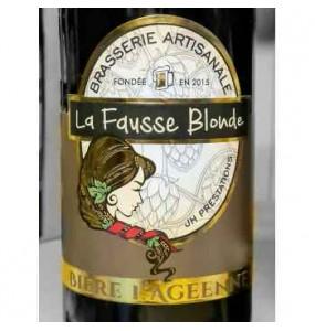 Bière  la Fausse blonde Agéenne 33Cl