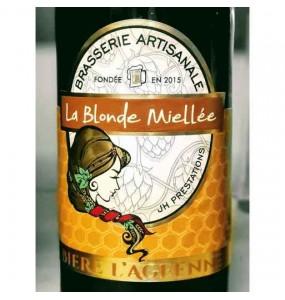 Bière La Blonde Miellée Agéenne 33Cl