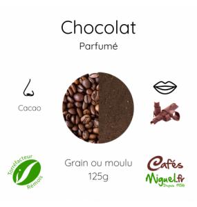 Café moulu au Chocolat