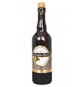 bière la fausse blonde 75 cl