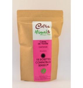 Café dosettes vanille