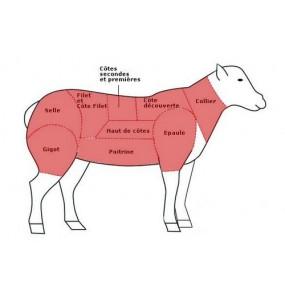 Caissette 1/2 agneau