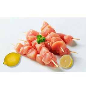 Brochettes de poulet au citron (lot de 4)