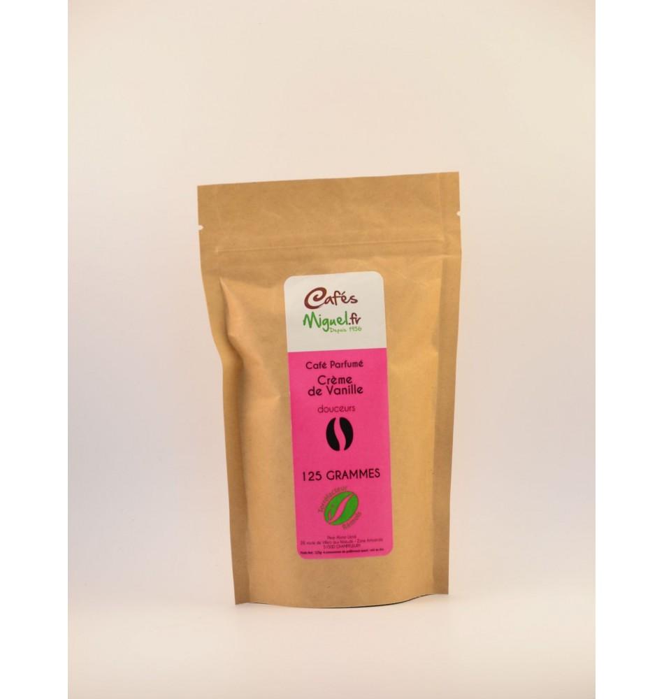 Café grain vanille