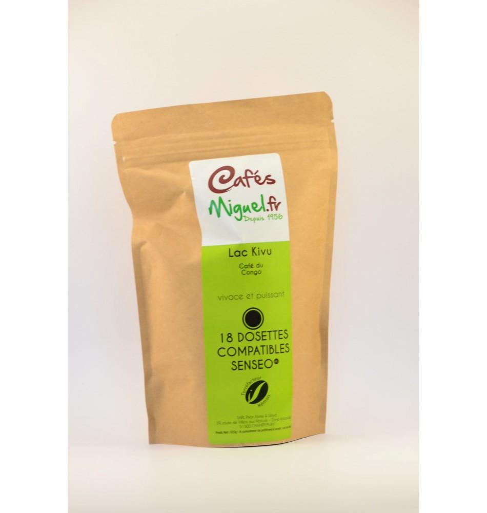 Café dosettes lac kivu