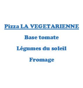 Pizza LA VEGETARIENNE