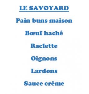 Hamburger LE SAVOYARD