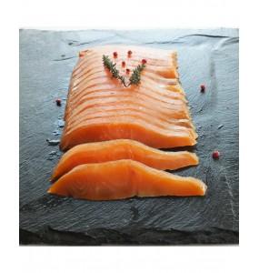 Sashimi de truite fumée
