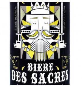 Bière des sacres noire