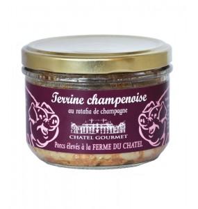 Terrine Champenoise au ratafia de champagne