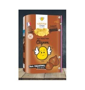 Chips craquantes aux oignons