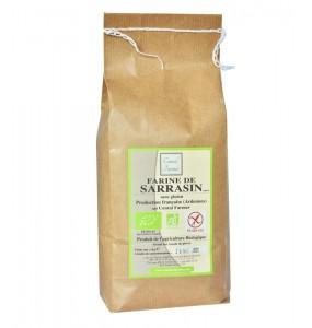 Farine de sarrasin bio et sans gluten